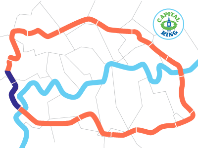 London Capital Ring Map