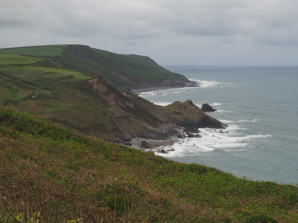 SW Coastal Path: Widemouth Bay to Crackington Haven